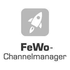 FeWo Channelmanager logo greyscale